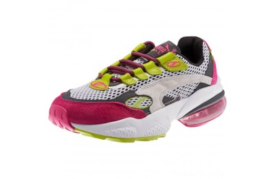 Black Friday 2020 Puma CELL Venom Fresh Women's Sneakers White-Fuchsia Purple Outlet Sale