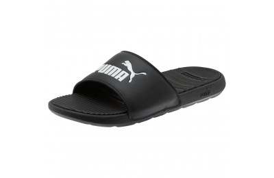 Puma Cool Cat Men's Slides Black- White Outlet Sale