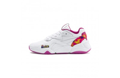 Puma Nova x Barbie Flash Women's Sneakers White-CABARET Outlet Sale