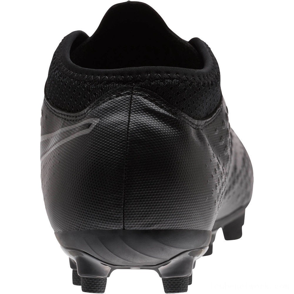 Black Friday 2020 Puma PUMA ONE 4 Synthetic FG Men's Soccer CleatsBlack-Black-Black Outlet Sale