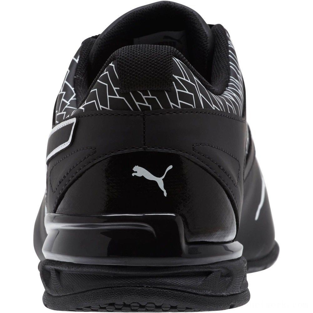 Puma Tazon 6 Fracture FM Men's Sneakers Black- Black Outlet Sale