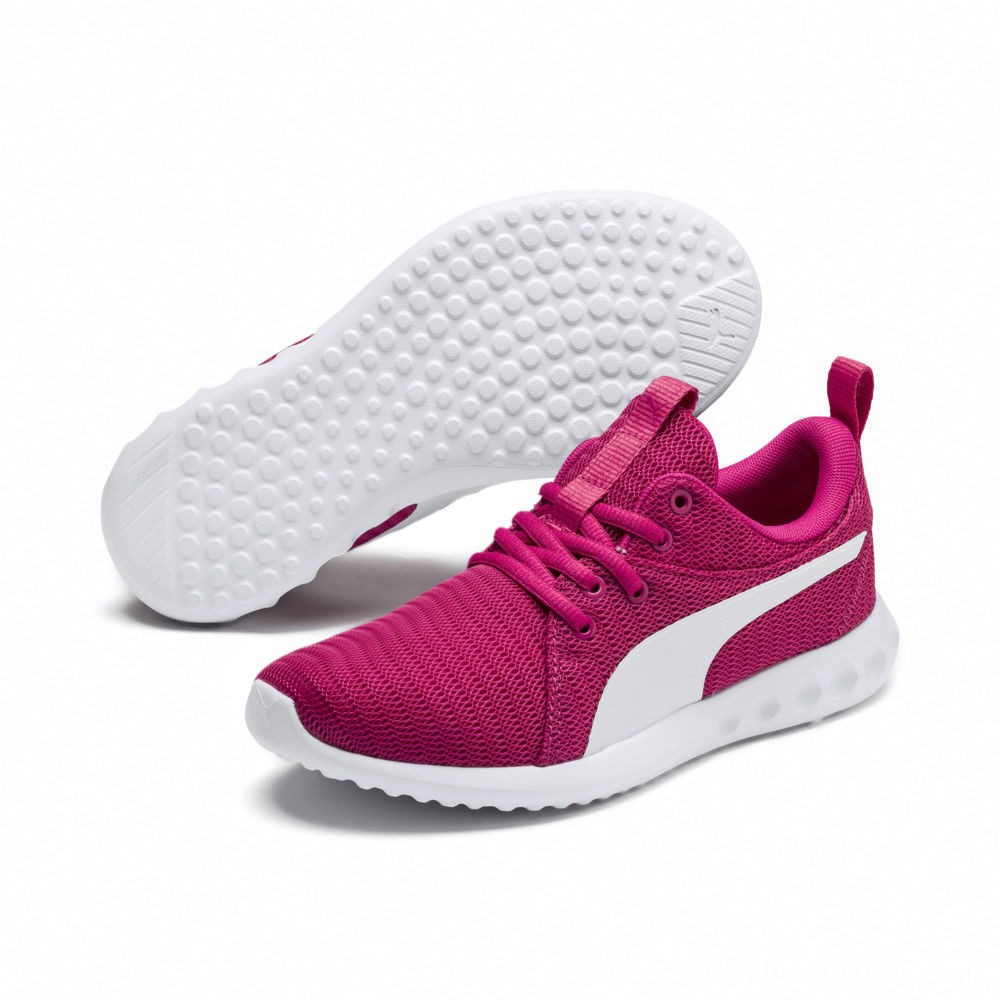 Black Friday 2020 Puma Carson 2 Sneakers JRFuchsia Purple- White Outlet Sale