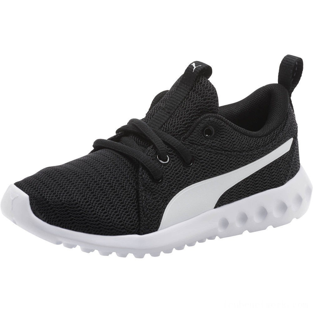 Black Friday 2020 Puma Carson 2 AC Sneakers PS Black- White Outlet Sale