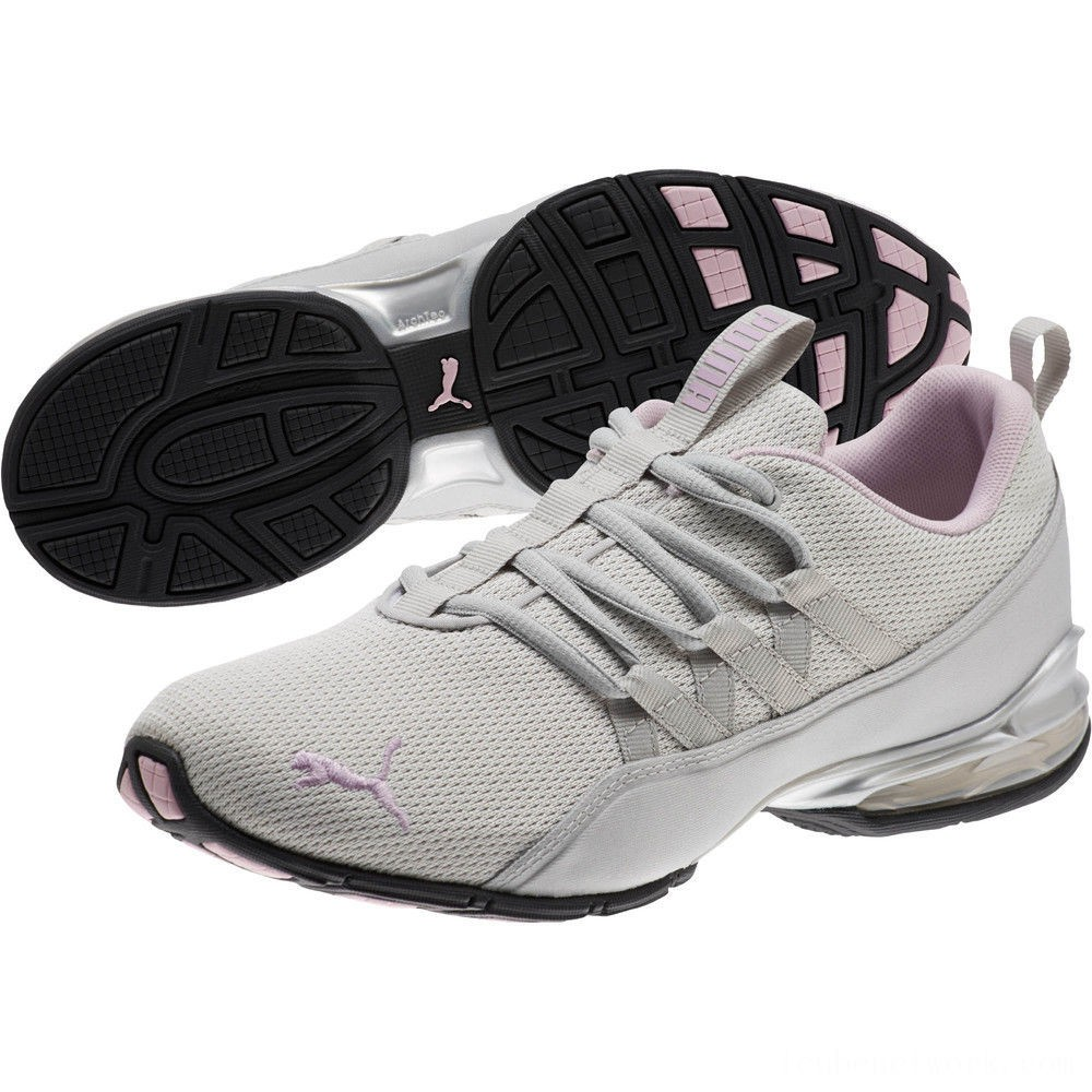 Puma Riaze Prowl Women's Sneakers Gray Violet-Winsome Orchid Outlet Sale