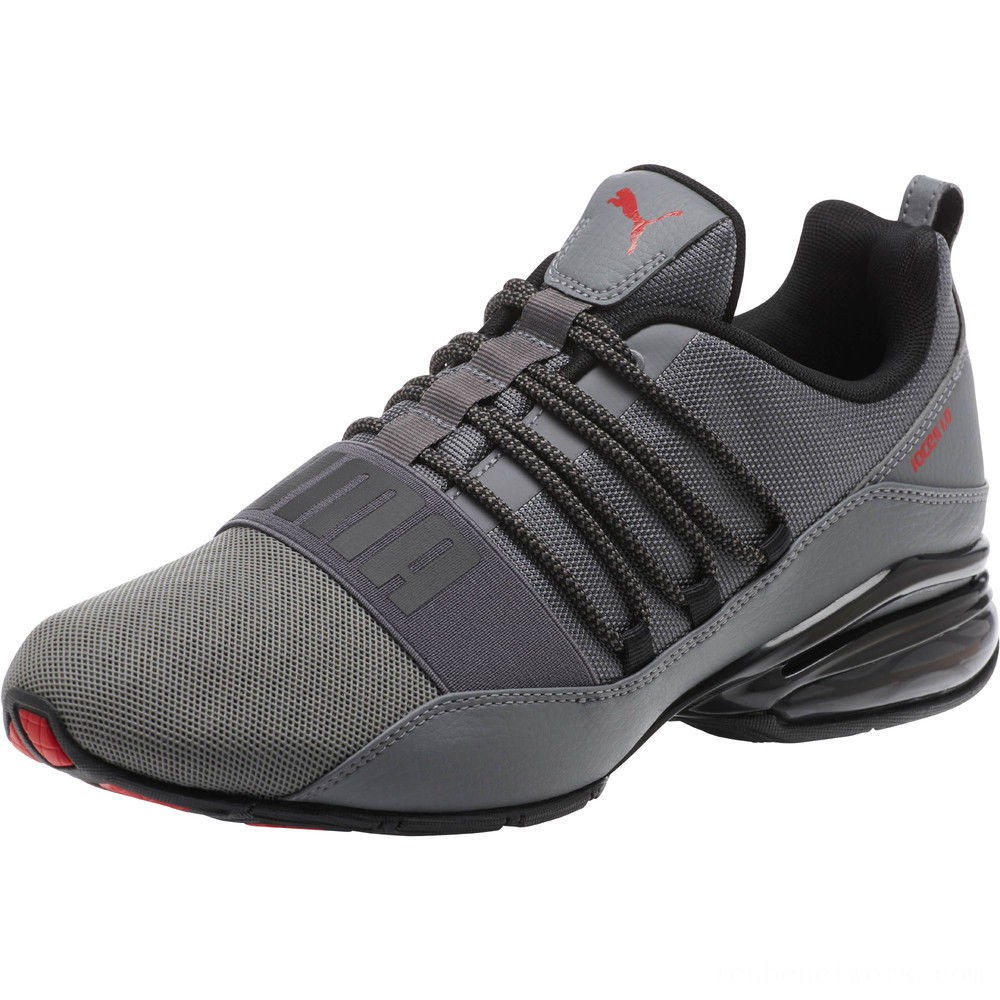 Black Friday 2020 Puma Cell Regulate KRM Men's Running Shoes QUIET SHADE- Black Outlet Sale