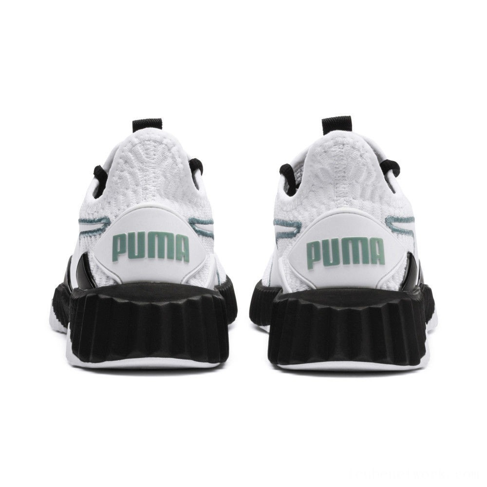 Black Friday 2020 Puma Defy Women's Sneakers White- Black Outlet Sale