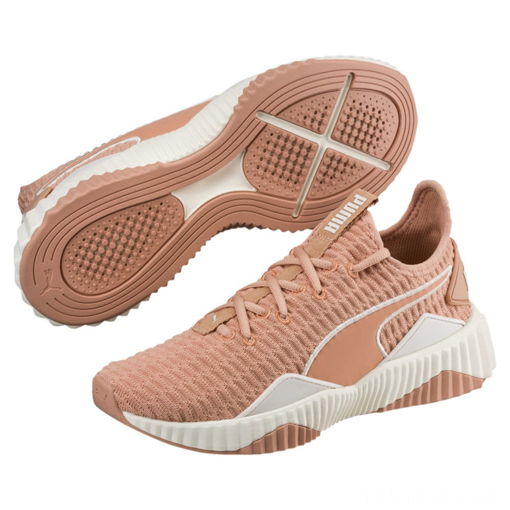 Puma Defy Women's Sneakers Dusty Coral-Whisper White Outlet Sale