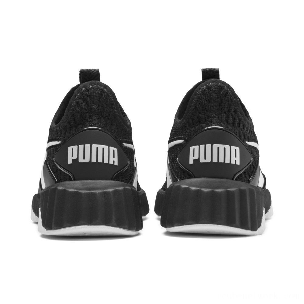 Black Friday 2020 Puma Defy Women's Sneakers Black- White Outlet Sale