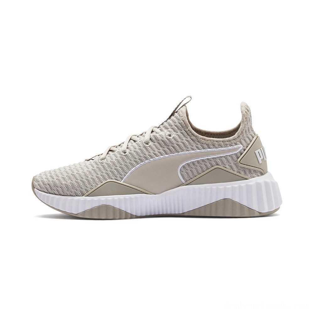 Black Friday 2020 Puma Defy Women's Sneakers Silver Gray- White Outlet Sale
