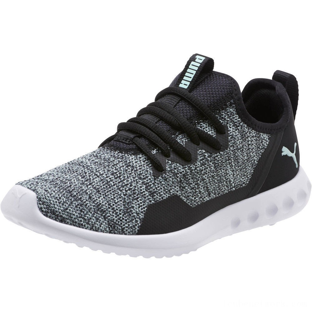 Puma Carson 2 X Knit Women's Running Shoes Black-Fair Aqua Outlet Sale