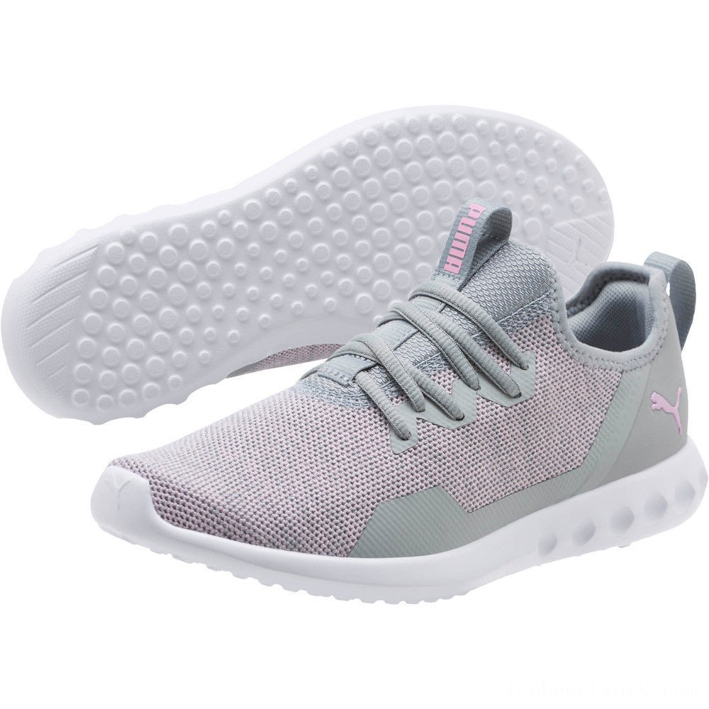 Puma Carson 2 X Knit Women's Running Shoes Quarry-Pale Pink Outlet Sale