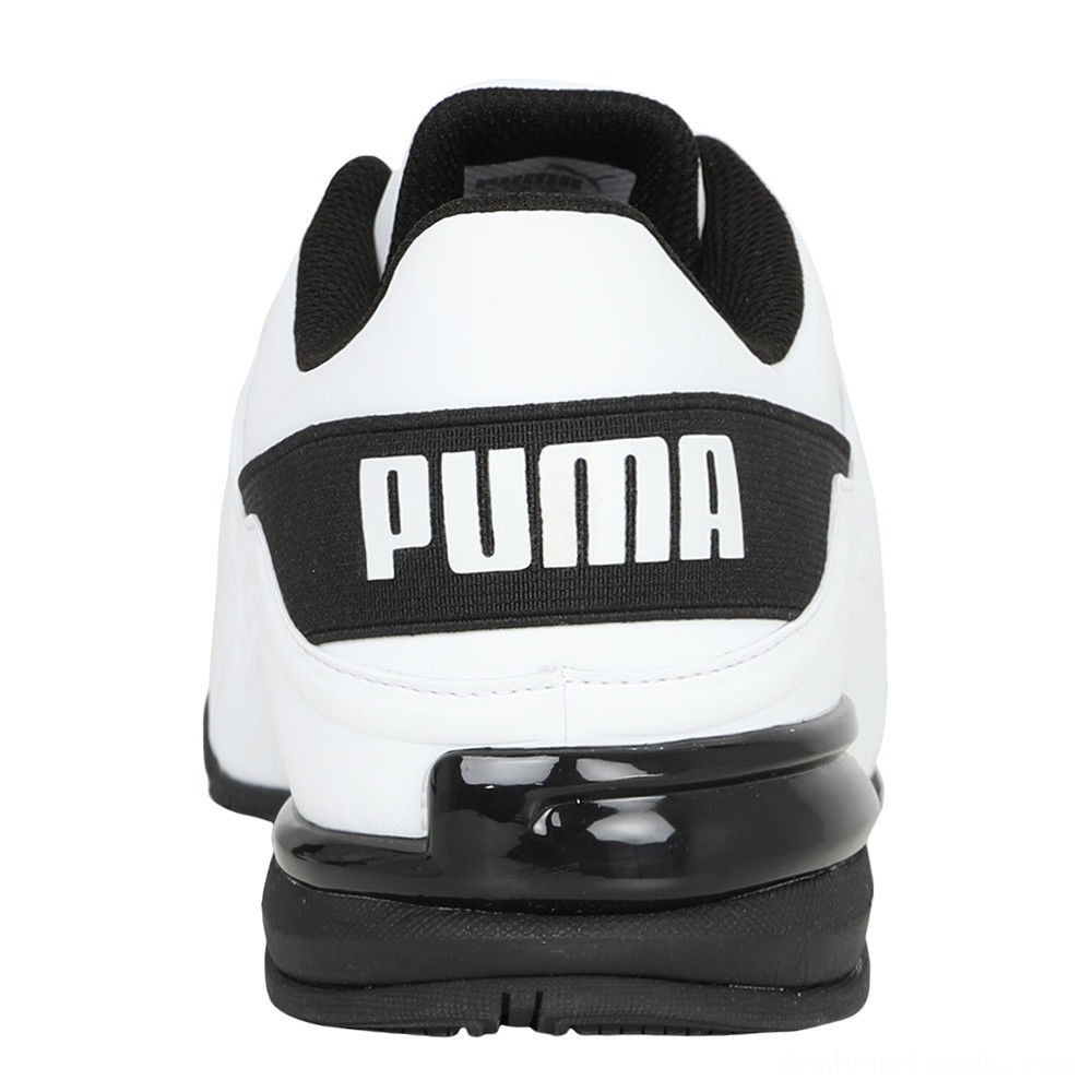 Black Friday 2020 Puma Viz Runner Men's Running Shoes White- Black Outlet Sale