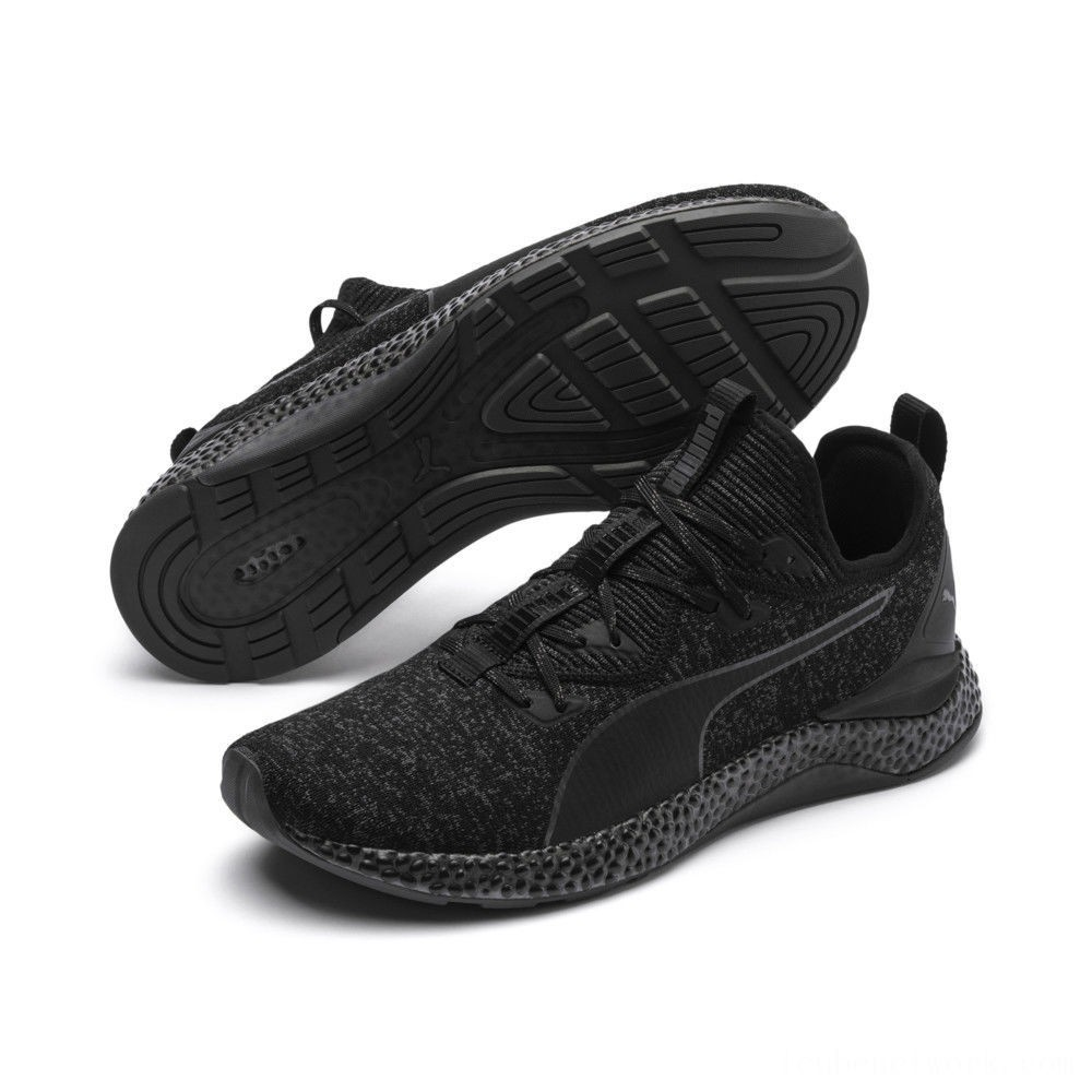 Black Friday 2020 Puma HYBRID Runner Men's Running Shoes Asphalt- Black Outlet Sale