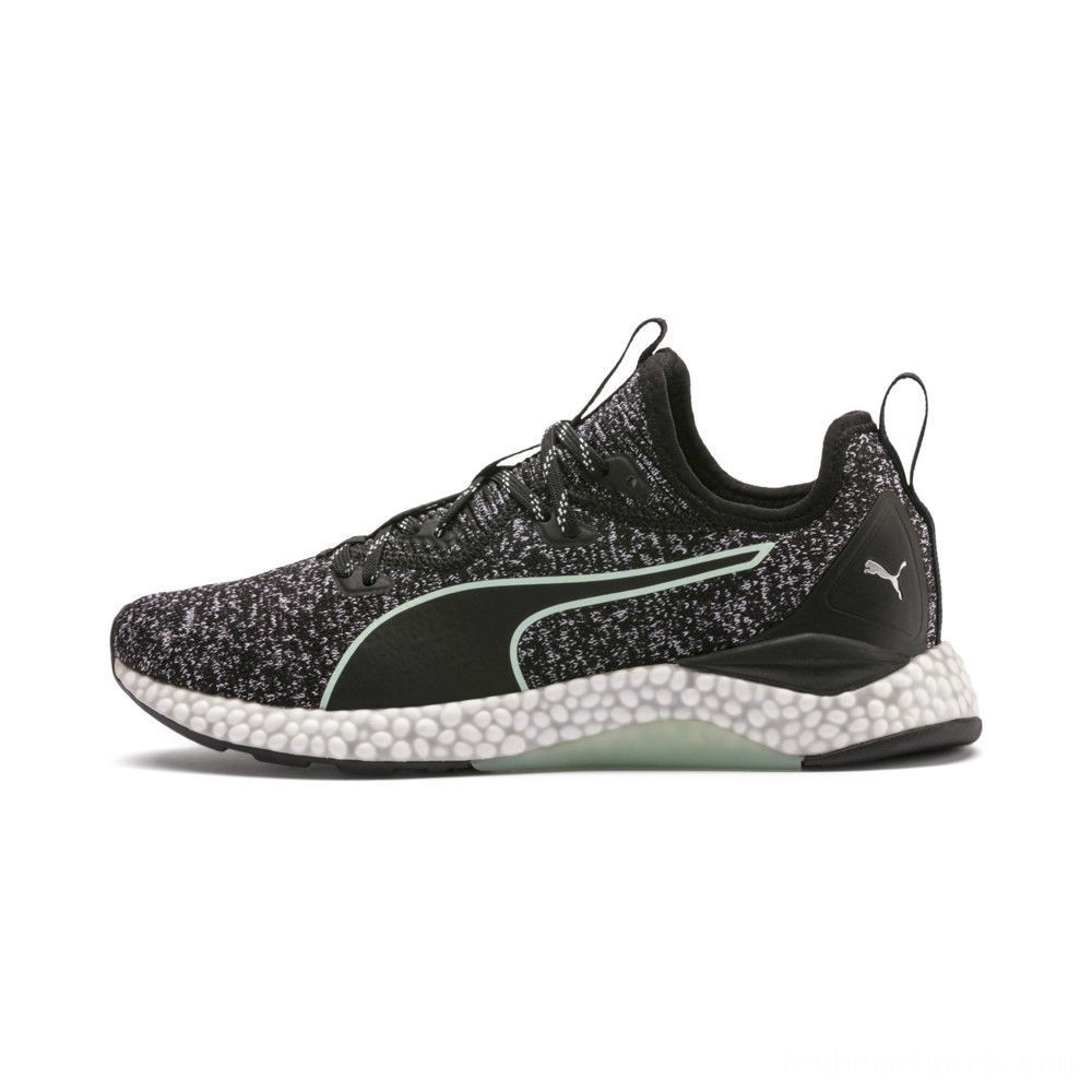 Puma HYBRID Runner Women's Running Shoes Black-Fair Aqua Outlet Sale