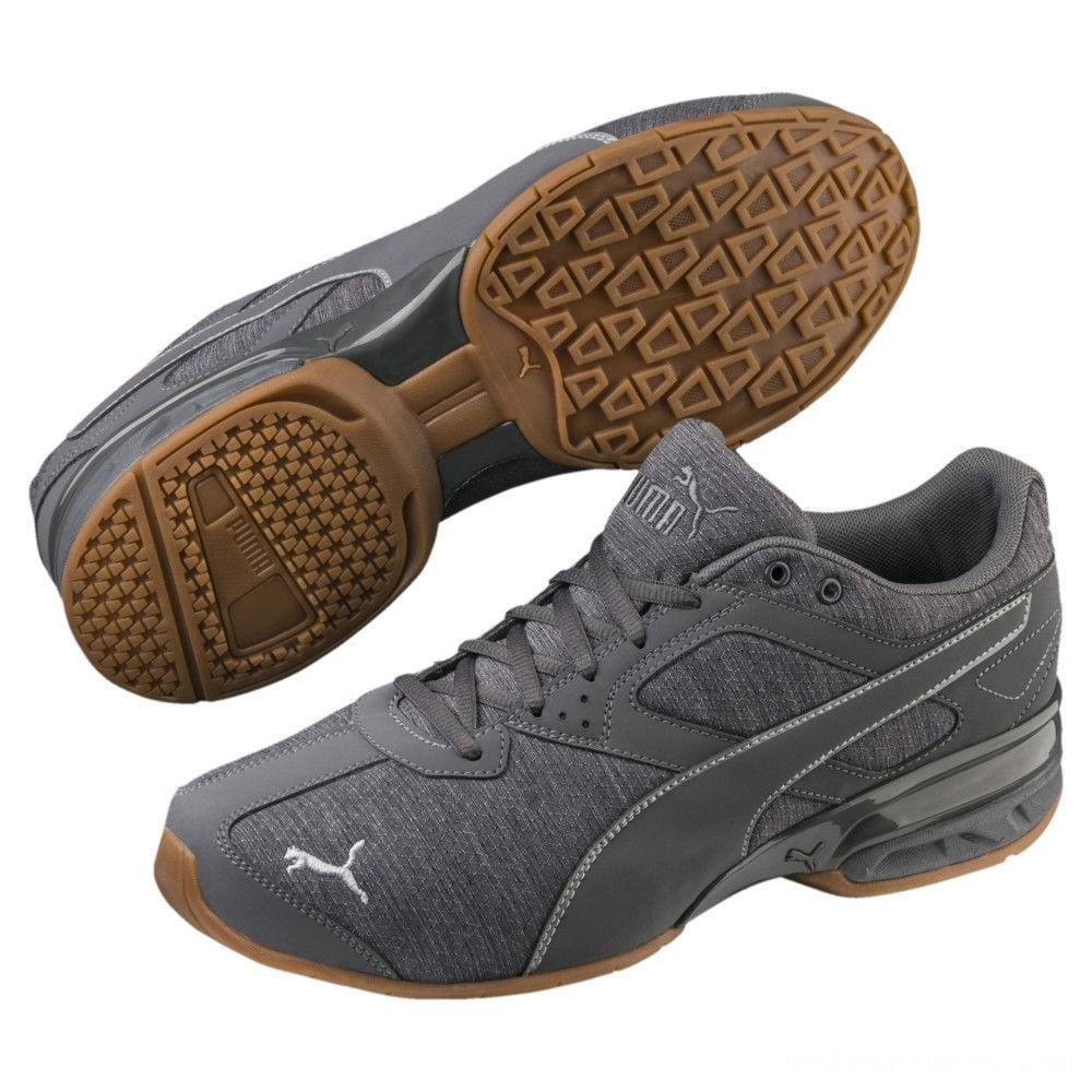 Black Friday 2020 Puma Tazon 6 Heather Rip Men's Sneakers Quarry-Iron Gate Outlet Sale