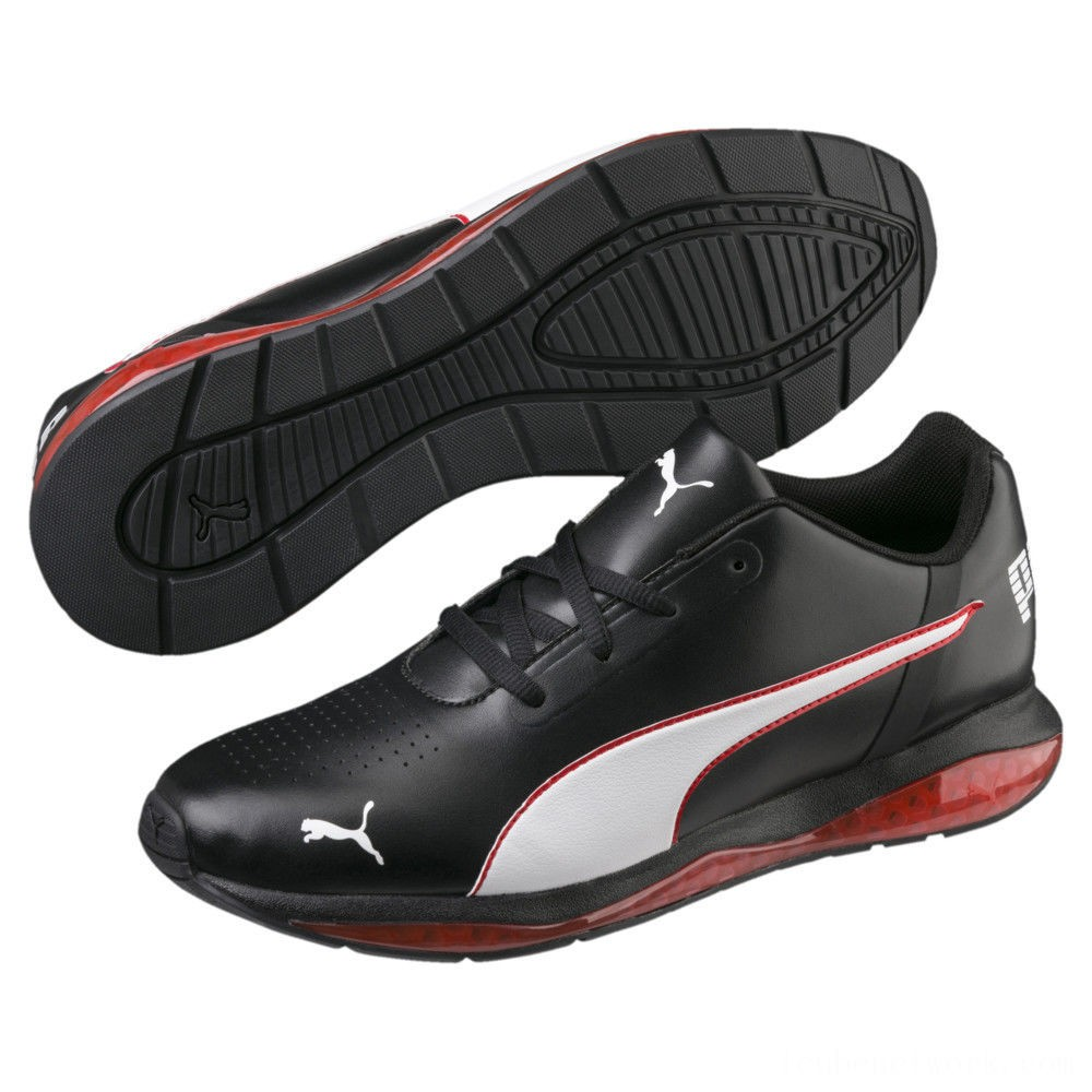 Black Friday 2020 Puma Cell Ultimate SL Men's Running Shoes Pma Blk-Pma Wht-Hgh Rsk Rd Outlet Sale