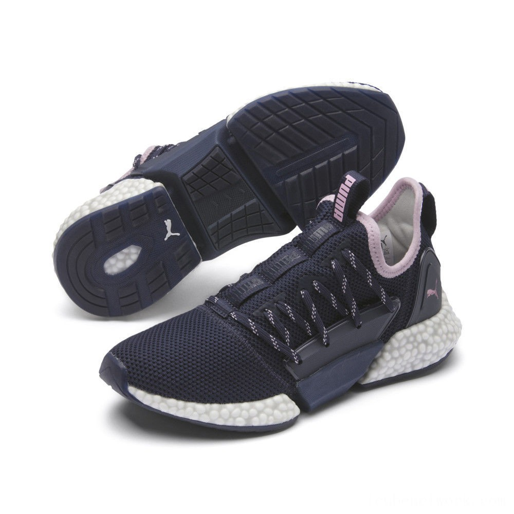 Puma HYBRID Rocket Runner Women's Running Shoes Peacoat-Lilac Sachet Outlet Sale
