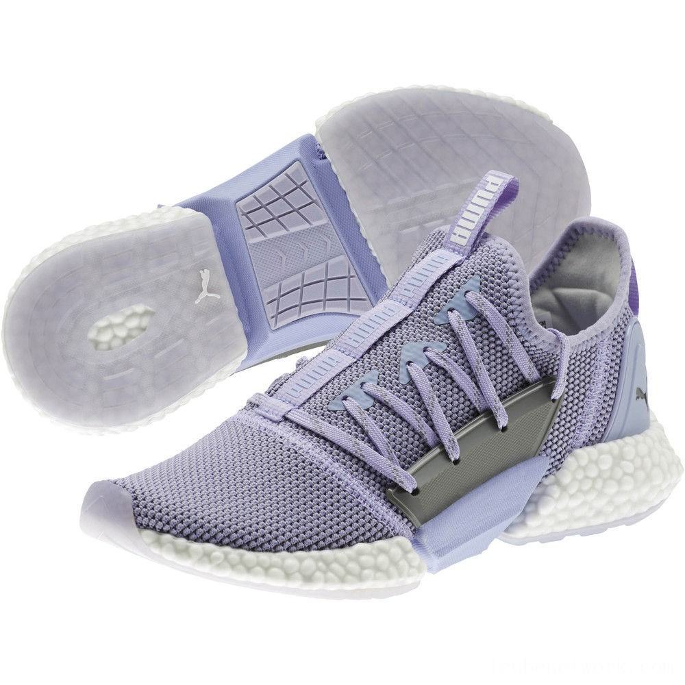 Puma HYBRID Rocket Runner Women's Running Shoes Sweet Lavender- White Outlet Sale