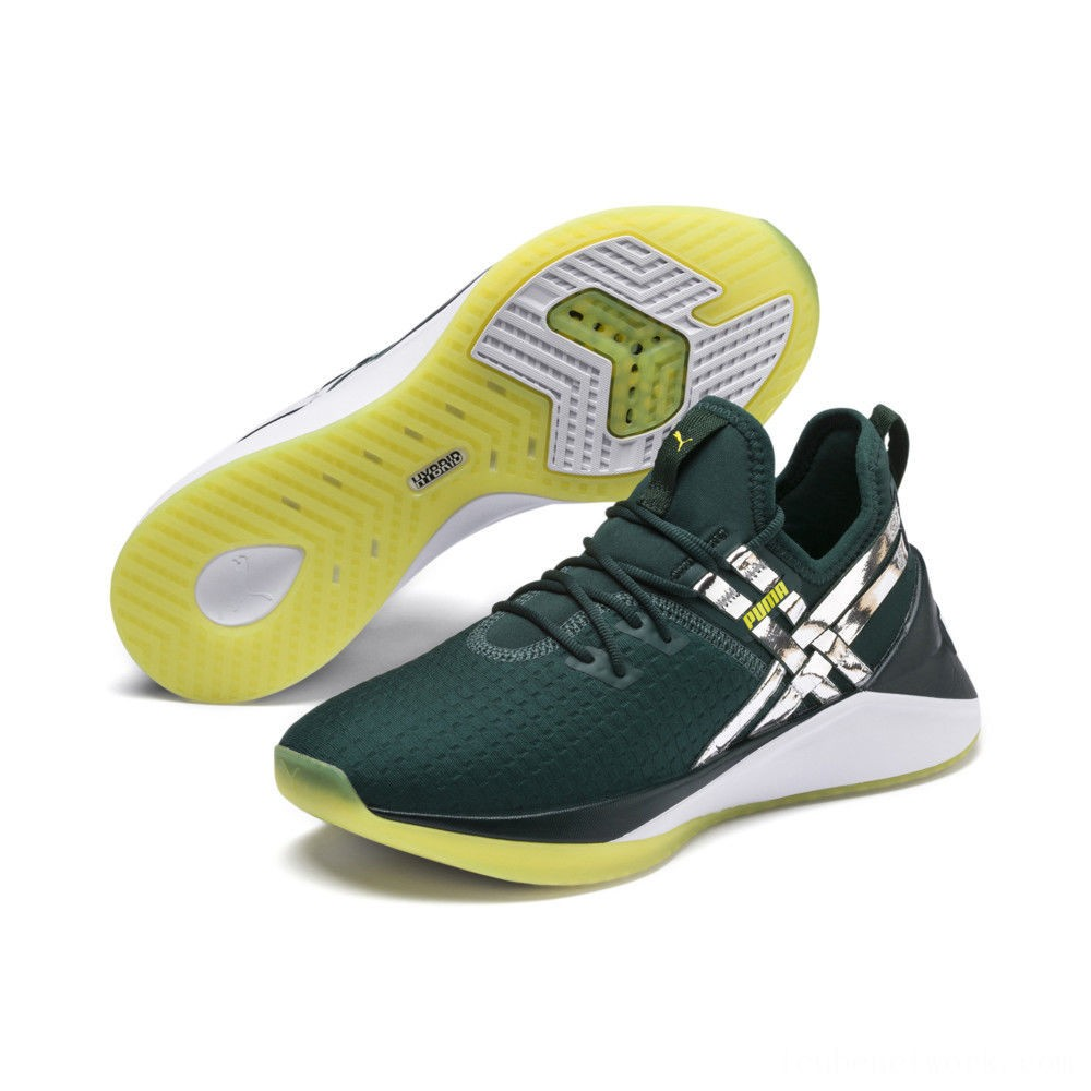 Black Friday 2020 Puma Jaab XT Trailblazer Women's Training Shoes Ponderosa Pine- White Outlet Sale