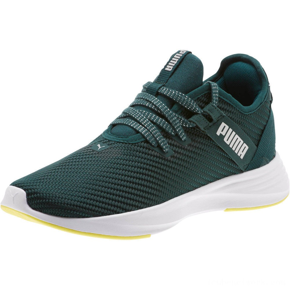 Black Friday 2020 Puma Radiate XT Cosmic Women's Training Shoes Ponderosa Pine- Silver Outlet Sale