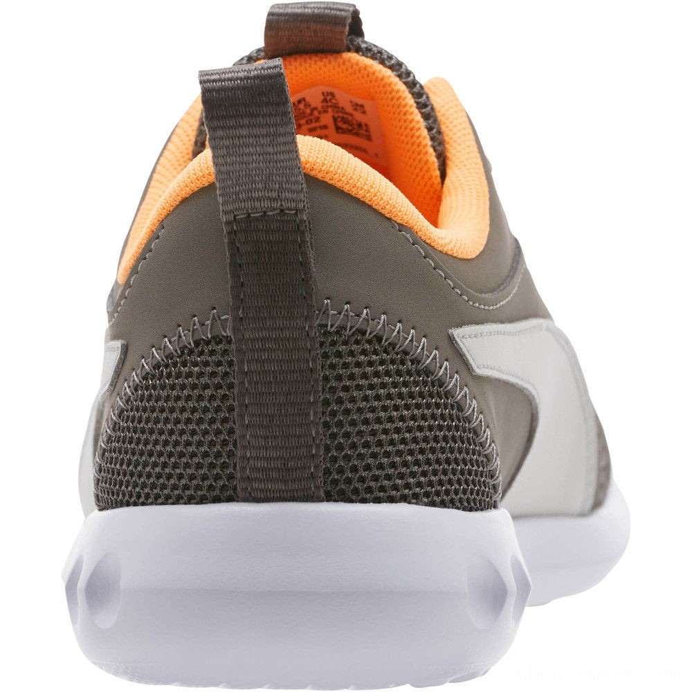 Black Friday 2020 Puma Carson 2 Casual Sneakers JRChar Gray-Glac Gray-Orange Outlet Sale