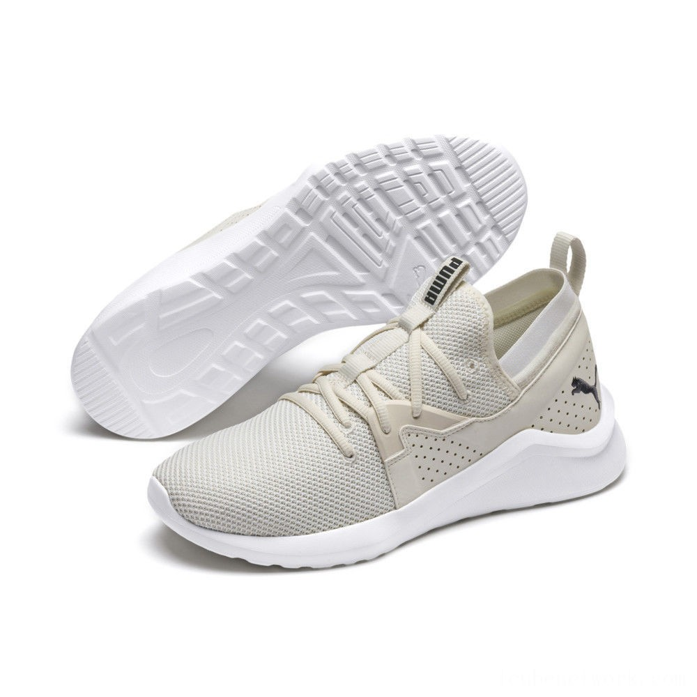 Puma EmergenceWhisper White-Asphalt Outlet Sale