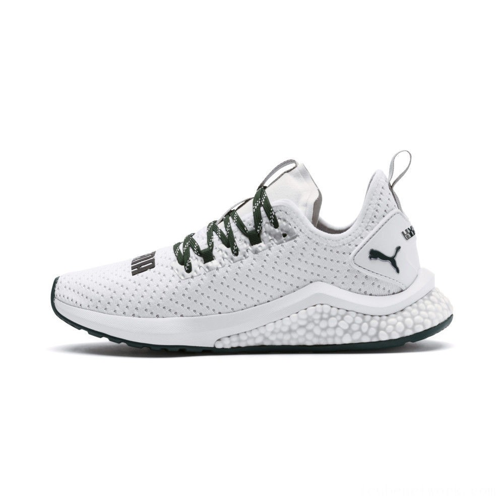 Black Friday 2020 Puma HYBRID NX Trailblazer Women's Running Shoes White-Ponderosa Pine Outlet Sale