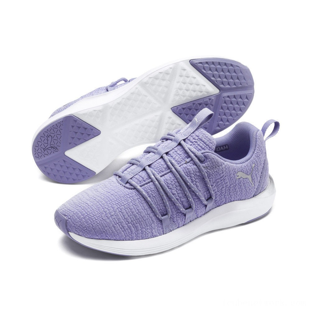 Puma Prowl Alt Metallic Women's Training Shoes Sweet Lavender- White Outlet Sale