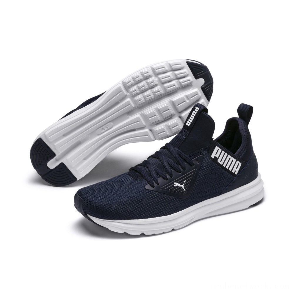 Puma Enzo BetaPeacoat- White Outlet Sale