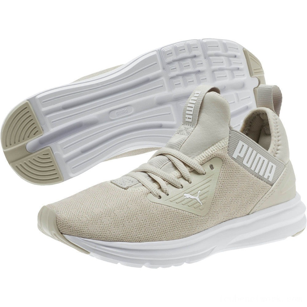 Black Friday 2020 Puma Enzo Beta Breathe Women's Training Shoes Silver Gray- White Outlet Sale