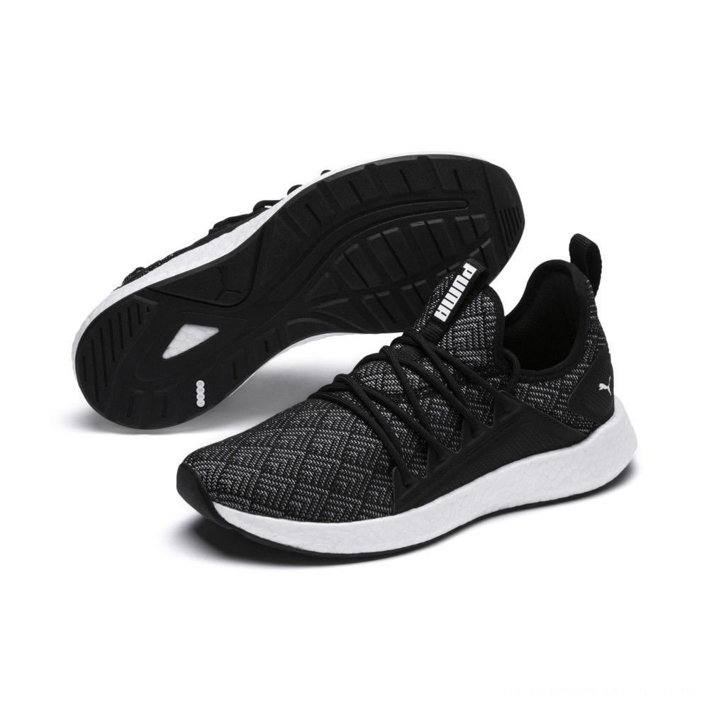 Puma NRGY Neko Stellar Women's Running Shoes Black- White Outlet Sale