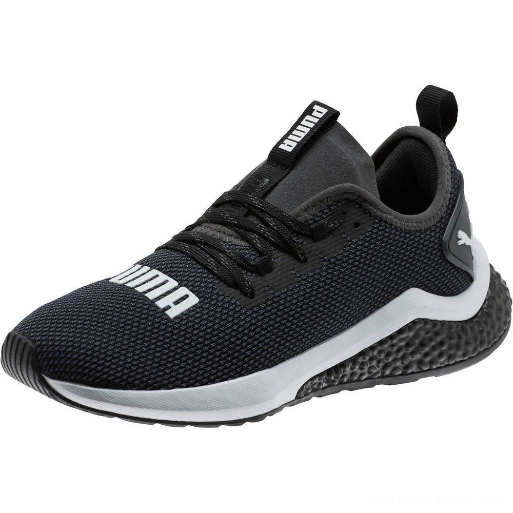 Black Friday 2020 Puma HYBRID NX Running Shoes JR Black- White Outlet Sale