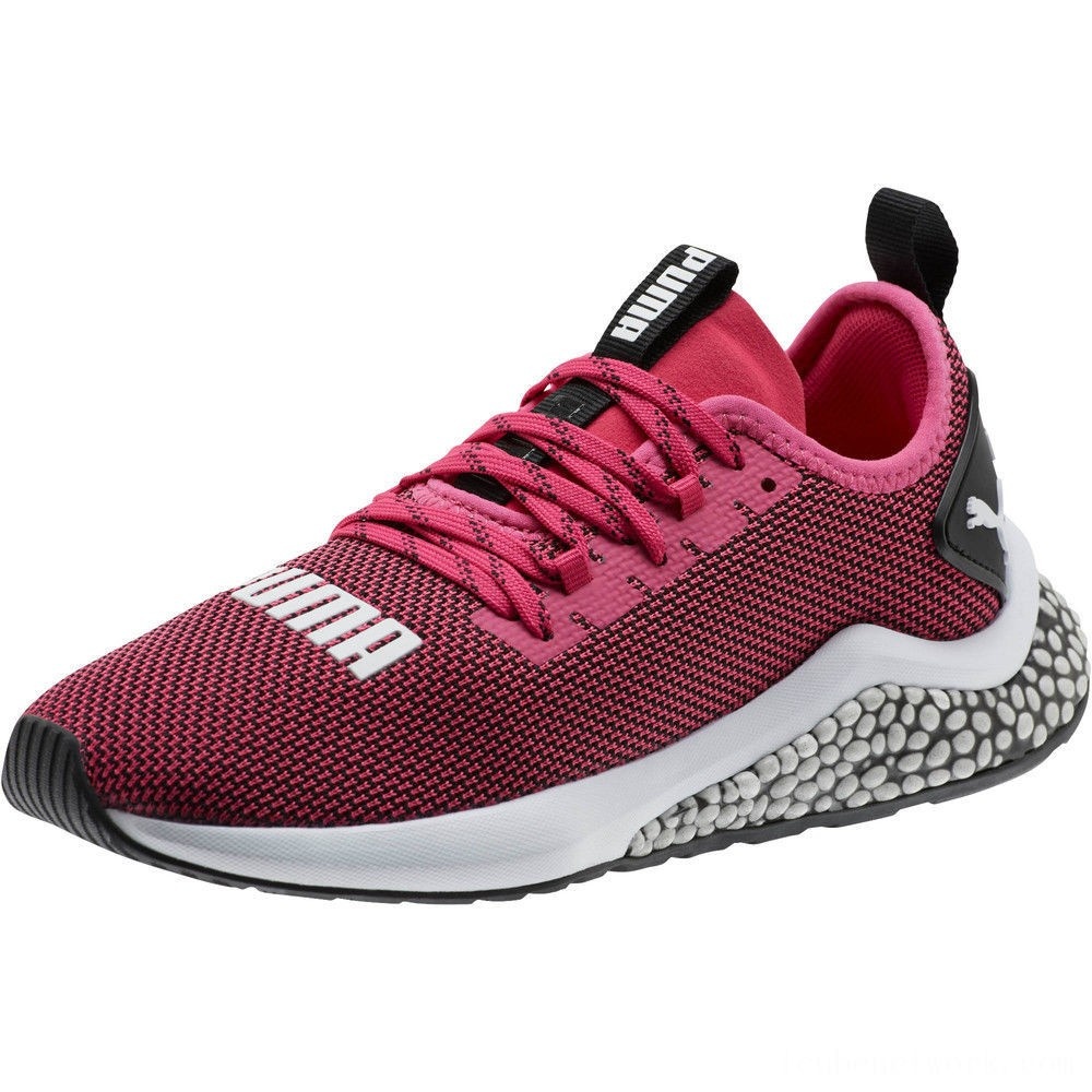 Black Friday 2020 Puma HYBRID NX Running Shoes JRFuchsia Purple-White-Black Outlet Sale