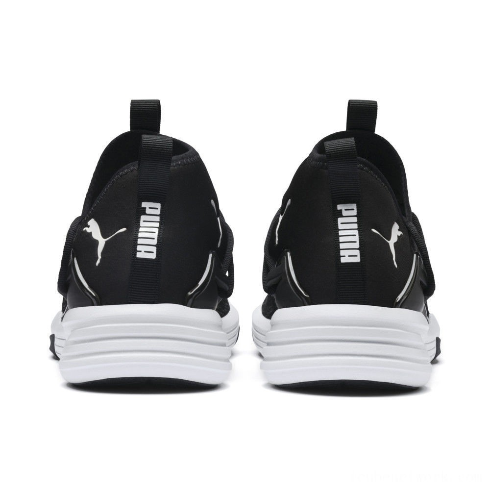 Puma Mantra Men's Training Shoe Black- White Outlet Sale