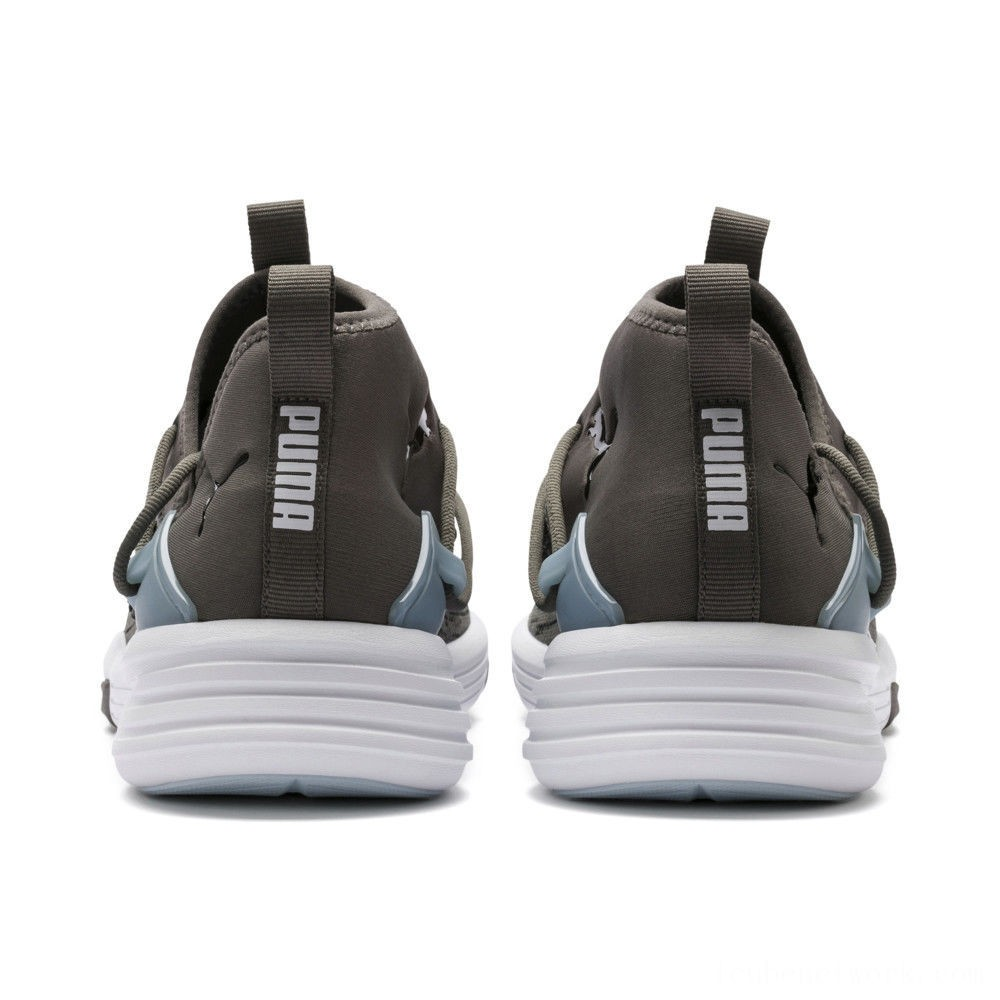 Black Friday 2020 Puma Mantra Men's Training ShoeCharcoal Gray- White Outlet Sale