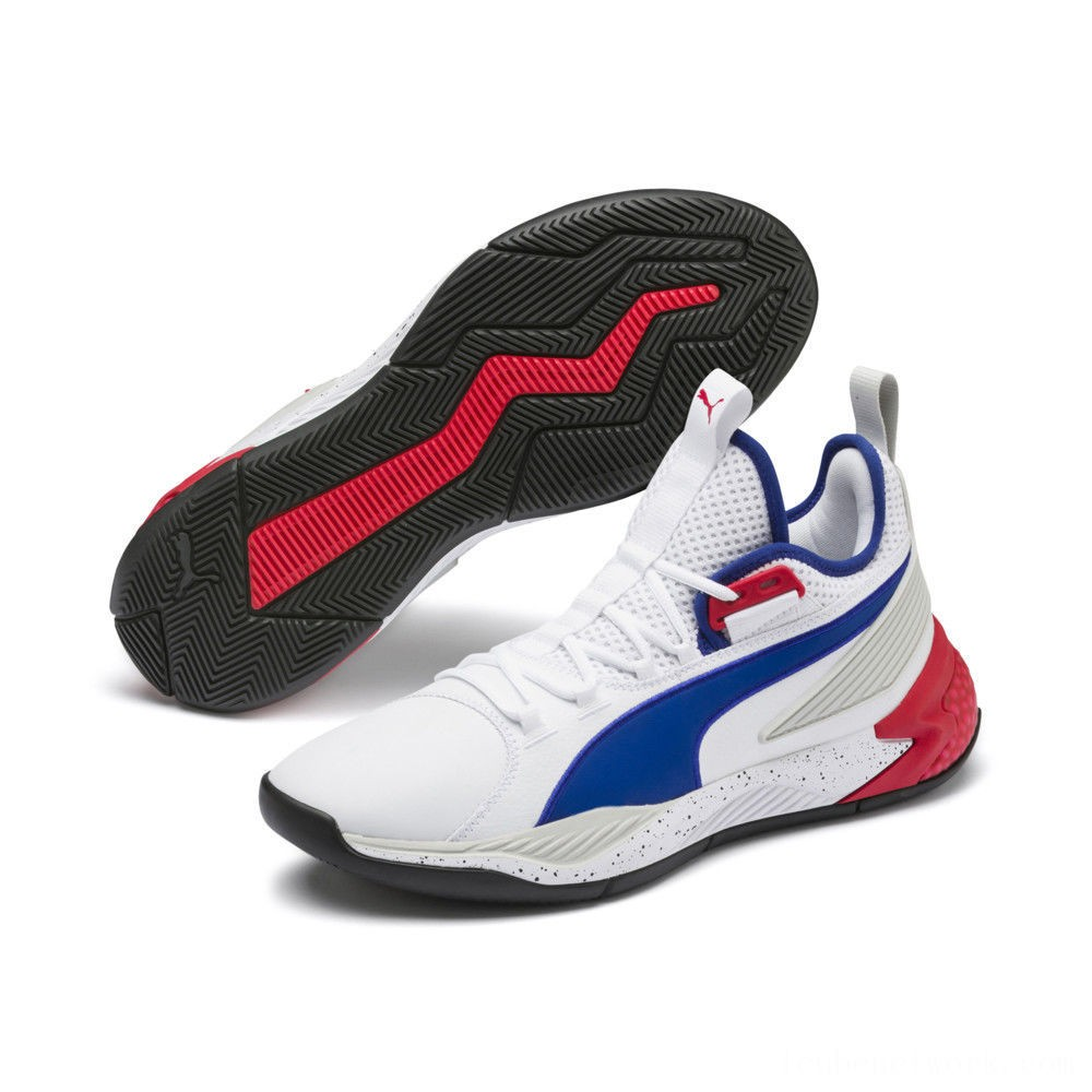 Black Friday 2020 Puma Uproar Palace Guard Basketball Shoes White-Surf The Web Outlet Sale