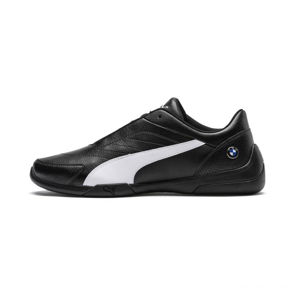 Black Friday 2020 Puma BMW M Motorsport Kart Cat III Sneakers Anthracite- White Outlet Sale
