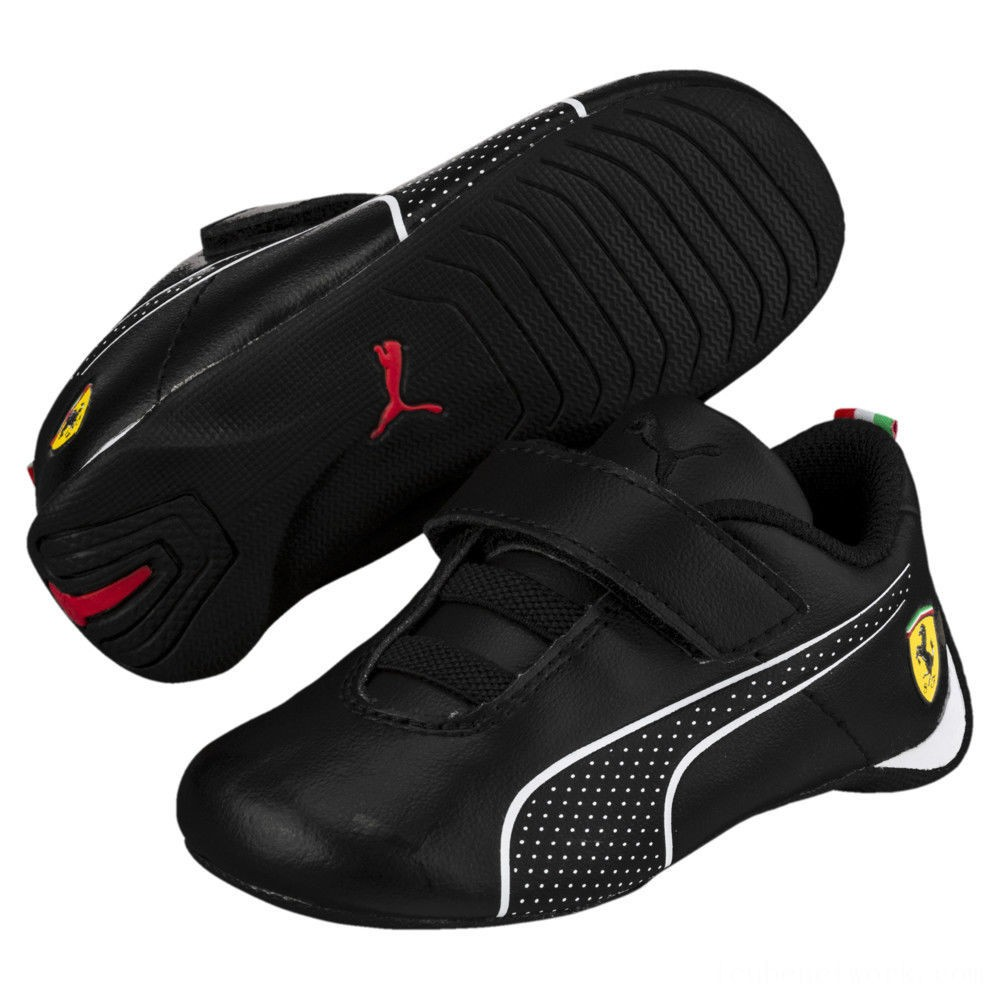 Puma Scuderia Ferrari Future Cat Ultra Sneakers INF Black- White Outlet Sale