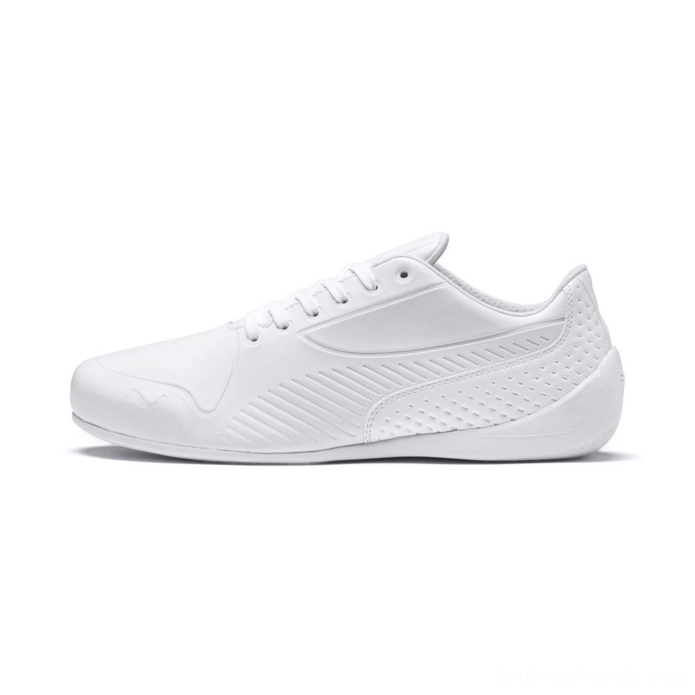 Puma Scuderia Ferrari Drift Cat 7 Ultra LS White- White Outlet Sale