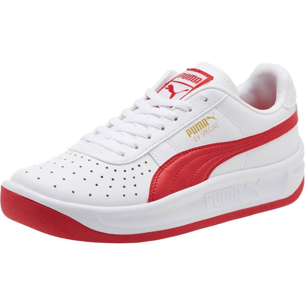 Puma GV Special Sneakers JR White-Ribbon Red Outlet Sale