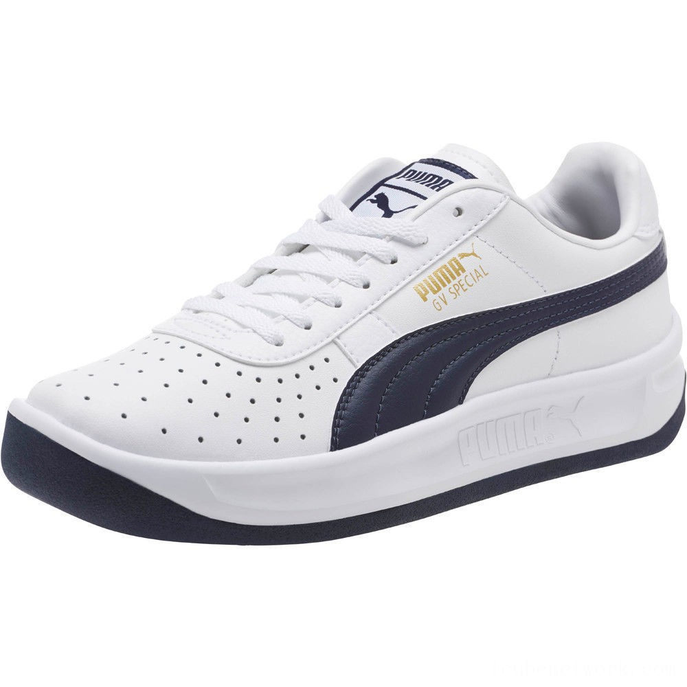 Puma GV Special Sneakers JR White-Peacoat Outlet Sale