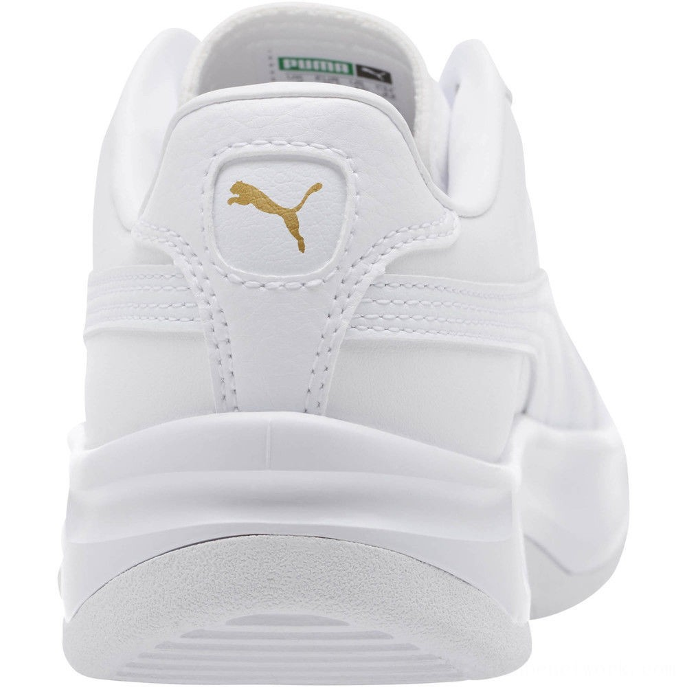 Black Friday 2020 Puma GV Special Sneakers JR White- Team Gold Outlet Sale