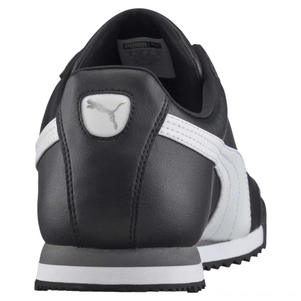 Black Friday 2020 Puma Roma Basic Sneakers black-white-puma silver Outlet Sale