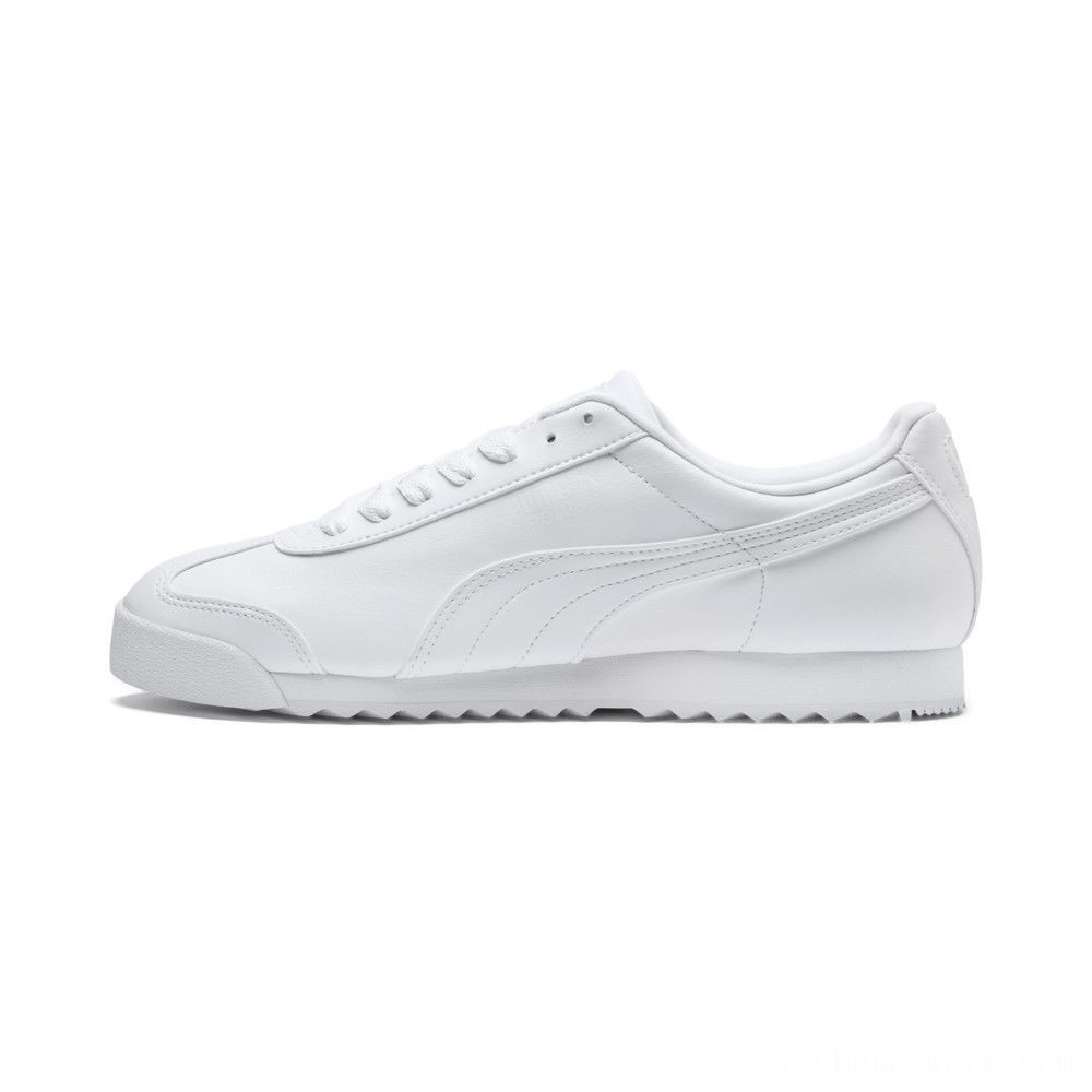 Black Friday 2020 Puma Roma Basic Sneakers white-light gray Outlet Sale