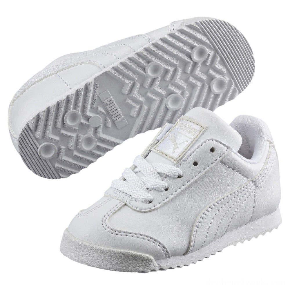 Black Friday 2020 Puma Roma Basic Sneakers INFwhite-light gray Outlet Sale