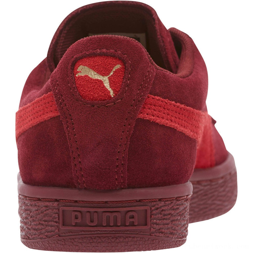 Black Friday 2020 Puma Suede Classic Women's Sneakers Pomegranate-Ribbon Red Outlet Sale