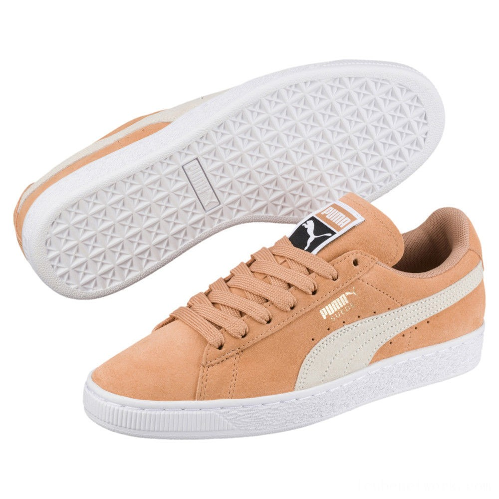 Black Friday 2020 Puma Suede Classic Women's Sneakers White-Whisper White Outlet Sale