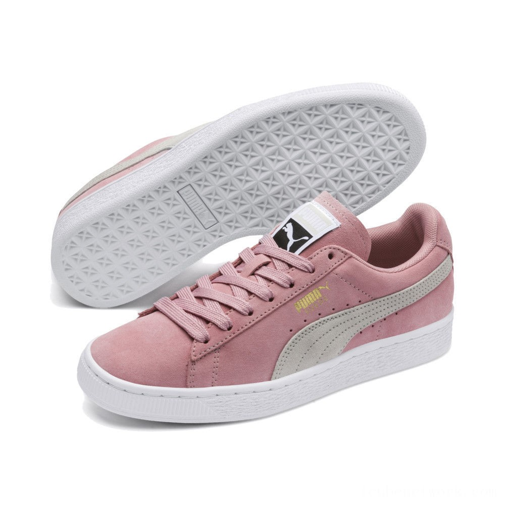Black Friday 2020 Puma Suede Classic Women's Sneakers Bridal Rose-Gray Violet Outlet Sale