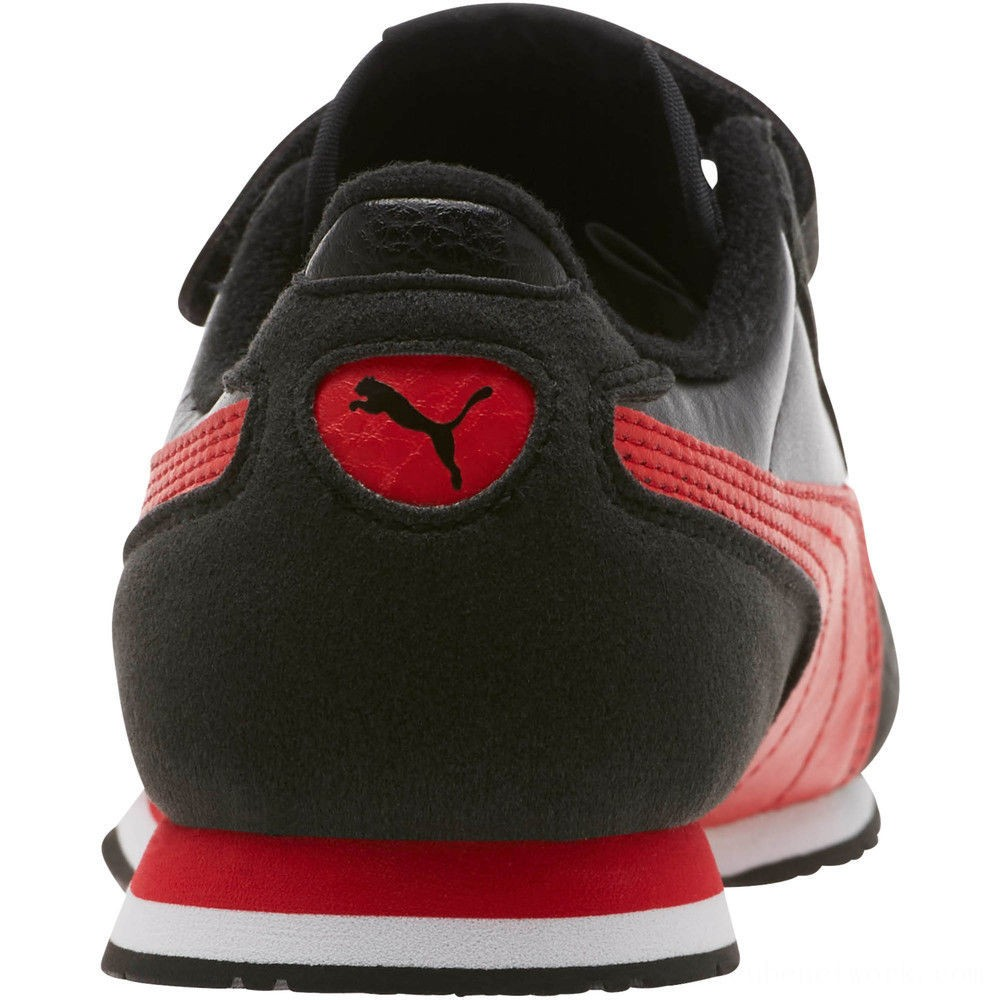 Puma Cabana Racer SL AC Sneakers PS Black-High Risk Red Outlet Sale