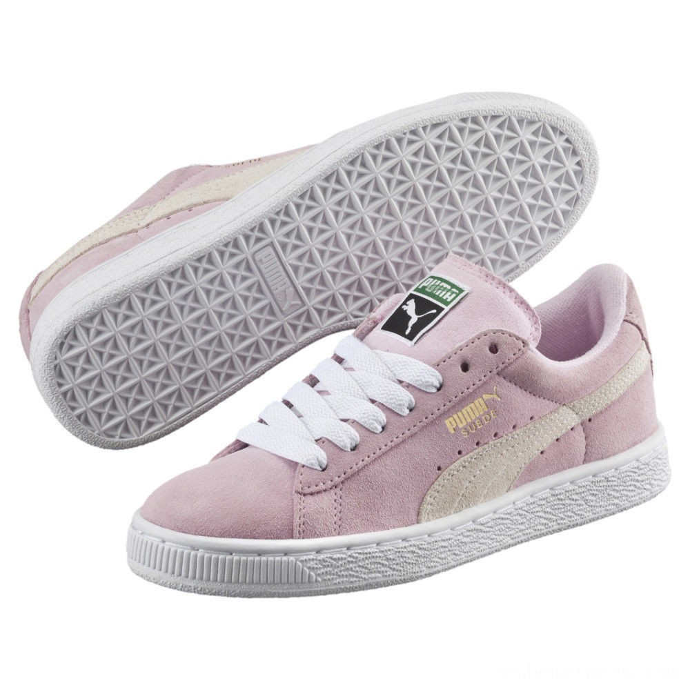 Black Friday 2020 Puma Suede PS Kids' Sneakers Pink Lady- White-P.T. Gold Outlet Sale
